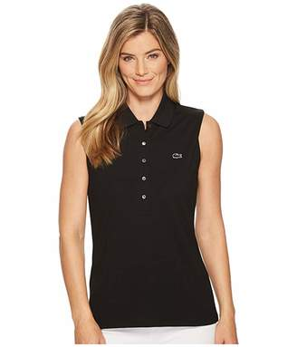 Lacoste Classic Sleeveless Slim Fit Polo