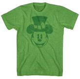 Mickey Mouse Boys' Mickey Leprechaun T-Shirt - Shamrock Heather