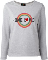 A.P.C. One Love printed T-shirt - women - Cotton - S
