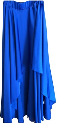 Enza Costa Blue Polyester Skirts