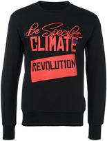 Vivienne Westwood Man - 'revolution' print sweatshirt - men - Cotton - S