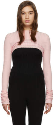 giu giu Pink Nonna Shrug Sweater
