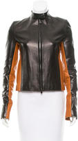 Reed Krakoff Two-Tone Leather Jacket