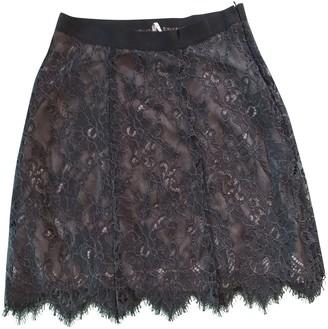 Liviana Conti Black Cotton - elasthane Skirt for Women