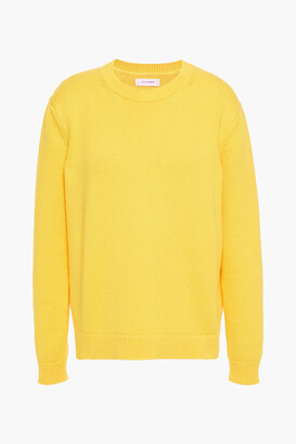 Chinti and Parker Cotton And Cashmere-blend Sweater
