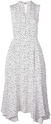 Adam Lippes All-Over Print Dress