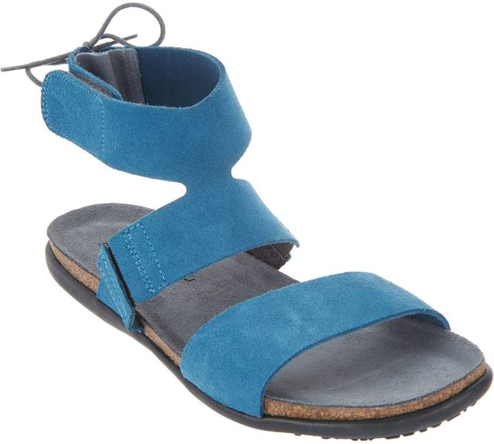 Naot Footwear Leather Tie Back Sandals - Larissa