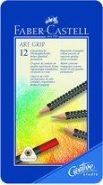 Faber-Castell Art Grip Colored Pencils, 12-Color Set