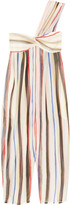Marysia Swim Venice striped cotton and silk-blend jumpsuit