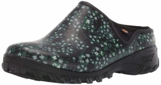 Bogs Women's Sauvie Clog Ditsy Waterproof Rain Boot
