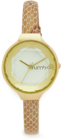 RumbaTime Orchard Gem Exotic Leather Ivory Watch