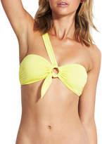 Seafolly O-Ring Bandeau One-Shoulder Bikini Top