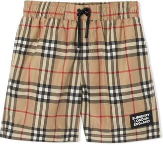 Burberry Kameron Vintage Check Swim Shorts