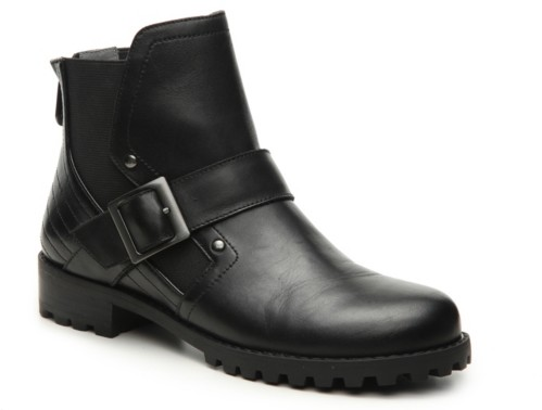 Adrienne Vittadini Donnie Motorcycle Bootie