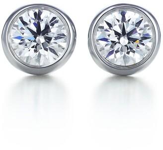 Tiffany & Co. Elsa Peretti Diamonds by the Yard earrings in platinum