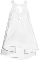 Rosie Assoulin Knotty Knotty cotton-poplin top