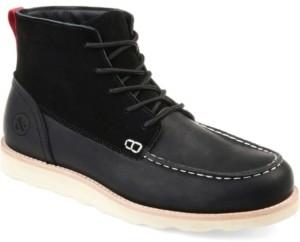 Thomas Laboratories & Vine Men's Spartan Moc Toe Boot Men's Shoes