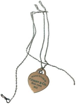 Tiffany & Co. & Co Return to Silver Silver Pendants