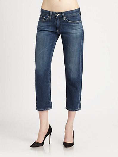AG Adriano Goldschmied Piper Cropped Jeans