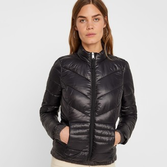 Vero Moda Short Padded Jacket with High Neck and Pockets