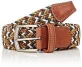 Barneys New York Men's Braided Elastic Belt