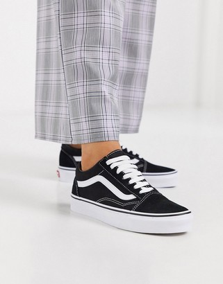 Vans Classic Old Skool black trainers