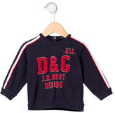 Dolce & Gabbana Boys' Logo Long Sleeve Sweatshirt