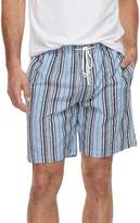 Men's Residence Summer Shells Striped Seersucker Lounge Shorts