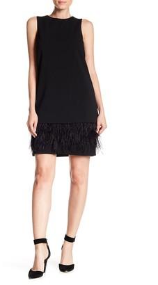 Calvin Klein Feather Bottom Shift Dress