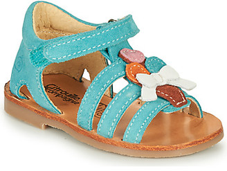 Citrouille et Compagnie MIETTE girls's Sandals in Green