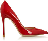 Gianvito Rossi Patent-leather Pumps - Red