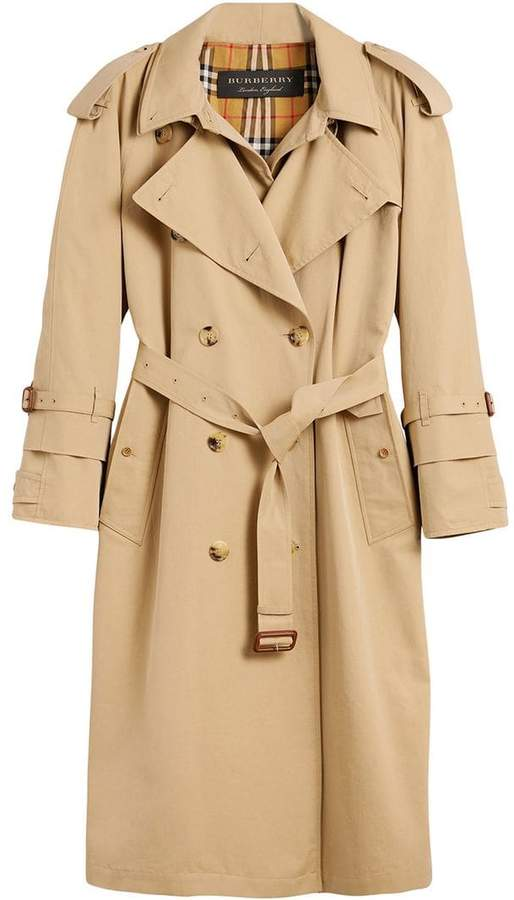 Burberry Gabardine Reconstructed trench coat