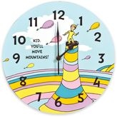 Trend Lab Dr. SeussTM Kid You'll Move Mountains! Wall Clock