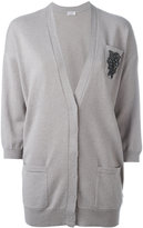 Brunello Cucinelli cashmere embroidered cardigan - women - Cashmere - S