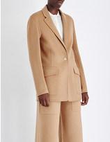 Joseph New Roma wool and cashmere-blend jacket