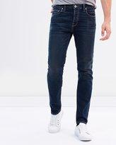 Current/Elliott Slim Selvage Fit Jeans