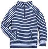 Splendid Boys' Mock Neck Stripe Pullover - Little Kid, Big Kid