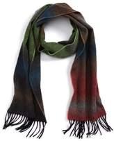 Paul Smith Fade Stripe Wool & Cashmere Scarf