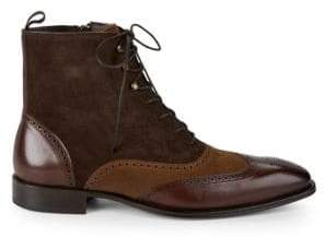 Mezlan Brogue Leather Boots