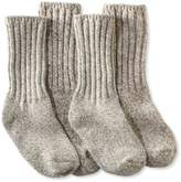 "L.L. Bean Merino Wool Ragg Sock, 10"" Two-Pack"