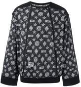 Kokon To Zai monogram sweatshirt