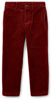 Ralph Lauren Suffield 10-Wale Corduroy Pants, Red, Size 2-4