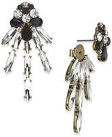 INC International Concepts Anna Sui x Gold-Tone Crystal Dragonfly Earring Jackets, Created for Macy's