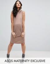 Asos Sweat Dress With Hood