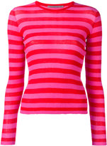 Ermanno Scervino striped jumper - women - Cotton/Polyamide - 44