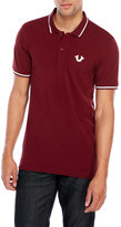 True Religion Crafted With Pride Short Sleeve Polo