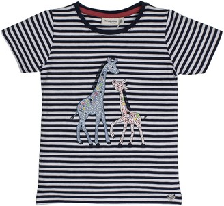 Salt&Pepper Salt and Pepper Girl's T-Shirt Wonderful Stripes