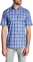 Zachary Prell Reyes Short Sleeve Printed Trim Fit Shirt