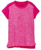 New Balance Short Sleeve Cationic Performance Top (Big Girls)