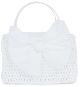 Grevi White Square Bag with Bow
